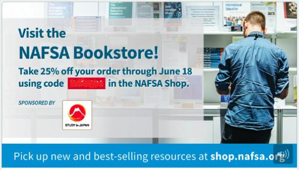 Visit the NAFSA Bookstore!